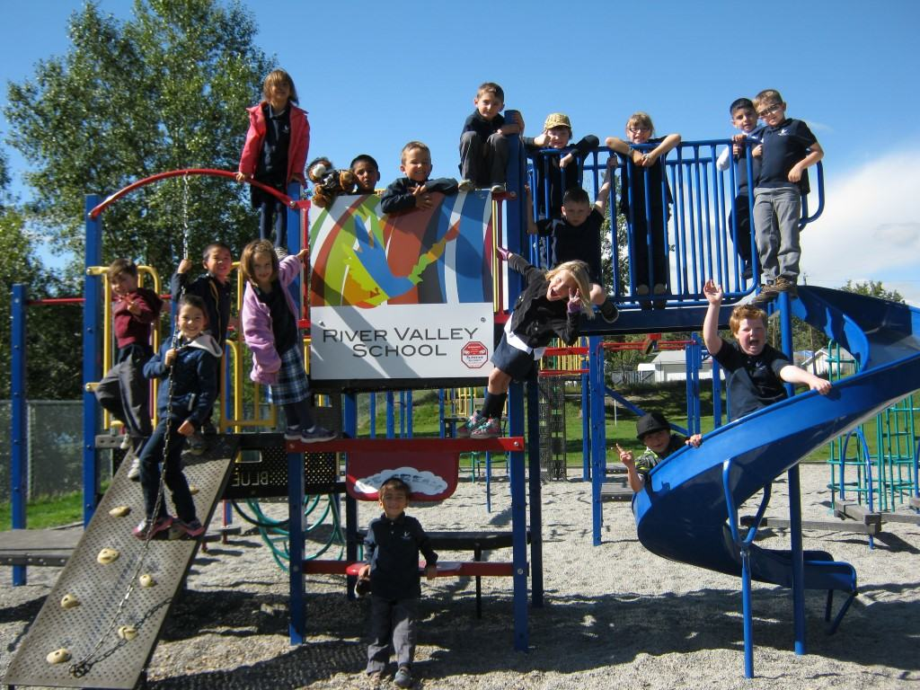 Playground photo - River Valley Scool, Calgary, Canada